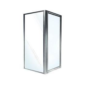 Swanstone Framed Polished Chrome Shower Door Sd03636cg.081