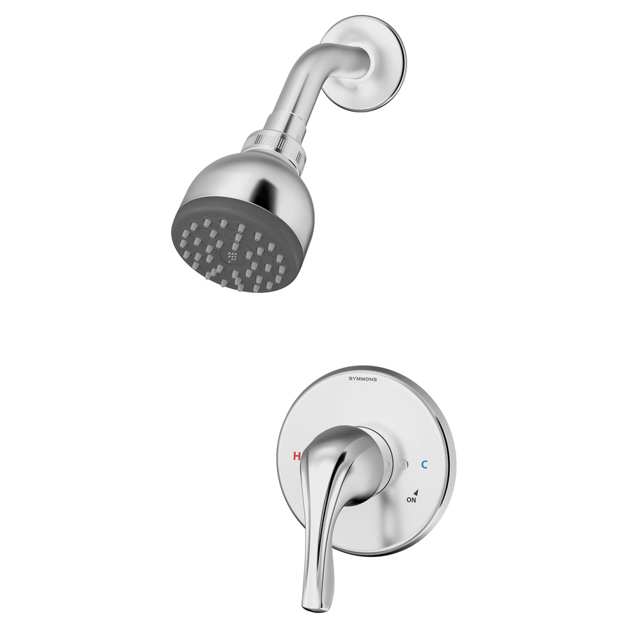 Symmons Origins Polished Chrome 1-Handle Shower Faucet 9601-Plr-1.5-Trm