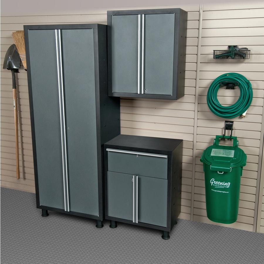 Shop Cabinets: Shop Blue Hawk 72-in H X 56-in W X 16-in D Metal Garage