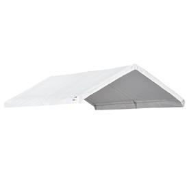 ShelterLogic Canopy 10-Ft W X 20-Ft L Rectangle White Alu...