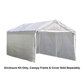 ShelterLogic White Polyethylene Storage Shed Enclosure Ki.  sc 1 st  Nextag & 10 x 10 enclosed canopy tents | Outdoor Structures | Compare ...