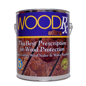 Woodrx Pre-Tinted Walnut Semi-Transparent Exterior Stain ...