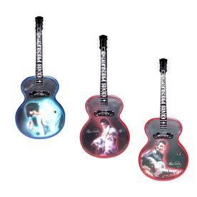 ELVIS Multi Colored Plastic Musical Elvis Ornament Color Changing Incandescent Lights 8200146LO