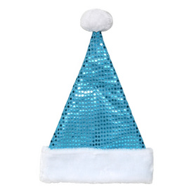 Holiday Living One Size Fits All Velvet Traditional Santa Hat 04089564LO