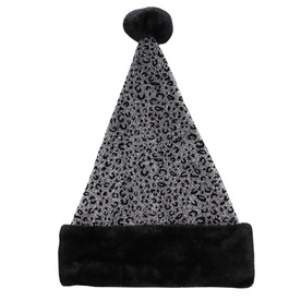 Holiday Living One Size Fits All Metallic Velvet Traditional Santa Hat 04089963LO