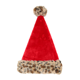 Holiday Living One Size Fits All Velvet Traditional Santa Hat 04081431LO