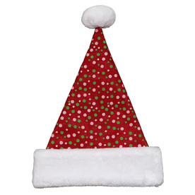 Holiday Living One Size Fits All Velvet Traditional Santa Hat 04091701LO
