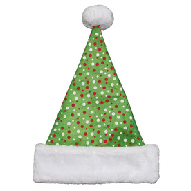 Holiday Living One Size Fits All Velvet Traditional Santa Hat 04091702LO