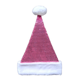 Holiday Living One Size Fits All Velvet Traditional Santa Hat 04089562LO