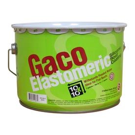 Gaco 2-Gallon Elastomeric Reflective Roof Coating (25-Yea...