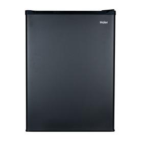 Haier 2.7-cu ft Freestanding Compact Refrigerator Freezer Compartment (Black) HC27SF22RB