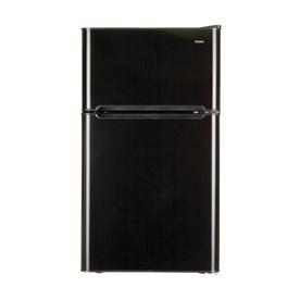 Haier 3.2-Cu Ft Freestanding Compact Refrigerator (Black)...