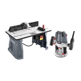 Shop routers at lowes display product reviews for variable speed plunge corded router with table included greentooth Images