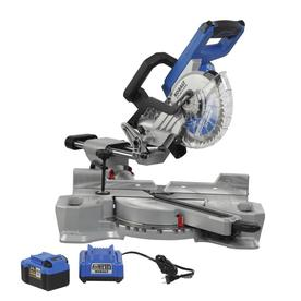 7-1/4-In 24-Volt Max Dual Bevel Sliding Compound Miter Saw - Kobalt KMS 0724A-03