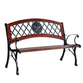Pleasing Patio Benches At Lowes Com Onthecornerstone Fun Painted Chair Ideas Images Onthecornerstoneorg