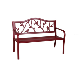Display Product Reviews For 23 5 In W X 50 4 L Red Steel Patio