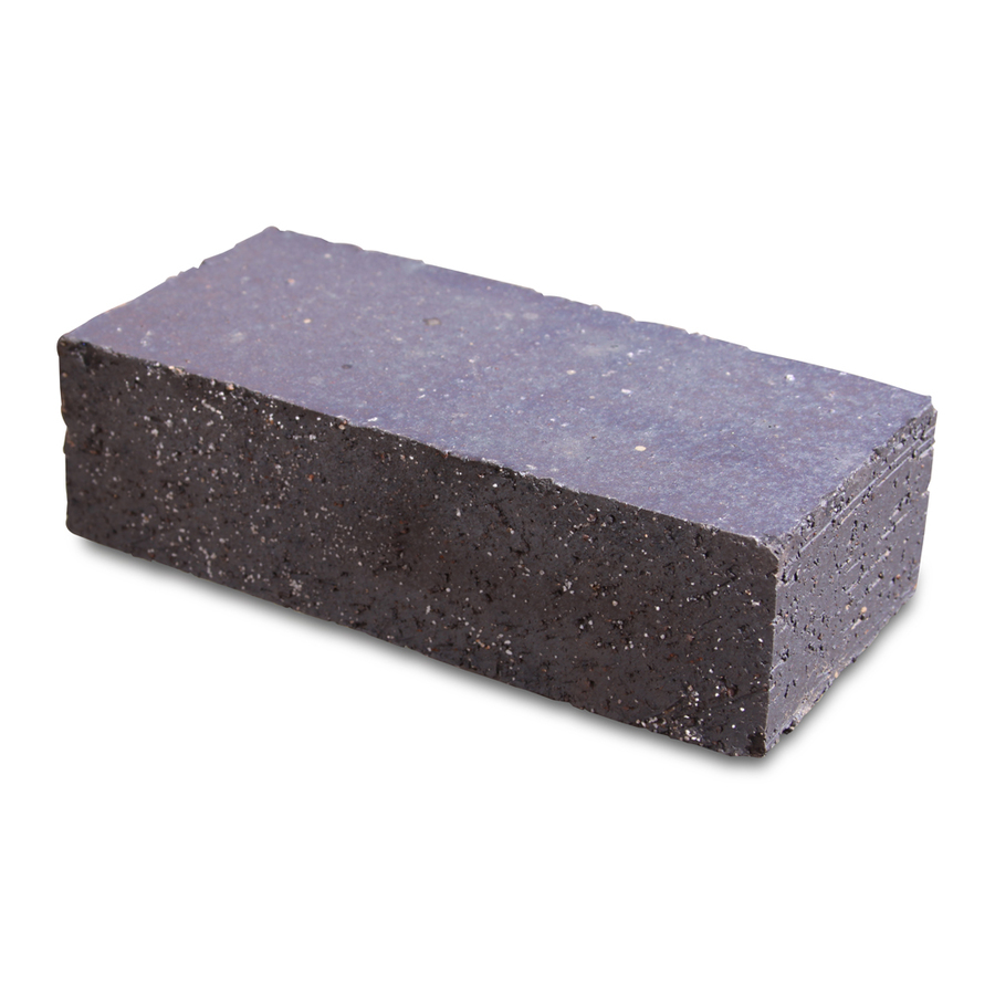Solid Clay Brick: Shop Pacific Clay Black Velour Solid Clay Brick At Lowes.com