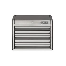 3000 27-In W X 23.2-In H 5-Drawer Ball-Bearing Tool Chest (Stainless Steel) - Kobalt SHS27TCSSKS2