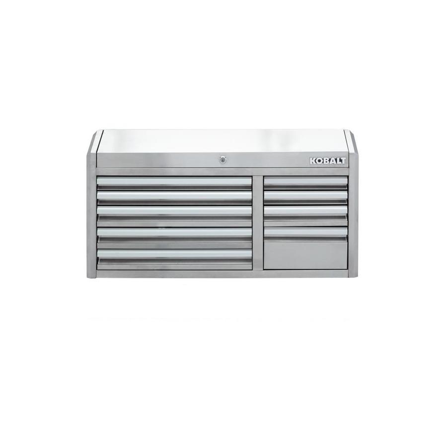 3000 41-In W X 22.5-In H 9-Drawer Stainless Steel Tool Chest (Stainless Steel) - Kobalt SHS41TCSSKS2