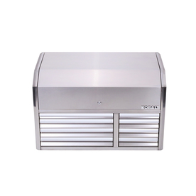 3000 41-In W X 26.1-In H 8-Drawer Stainless Steel Tool Chest (Stainless Steel) - Kobalt SHS41SSTC8D