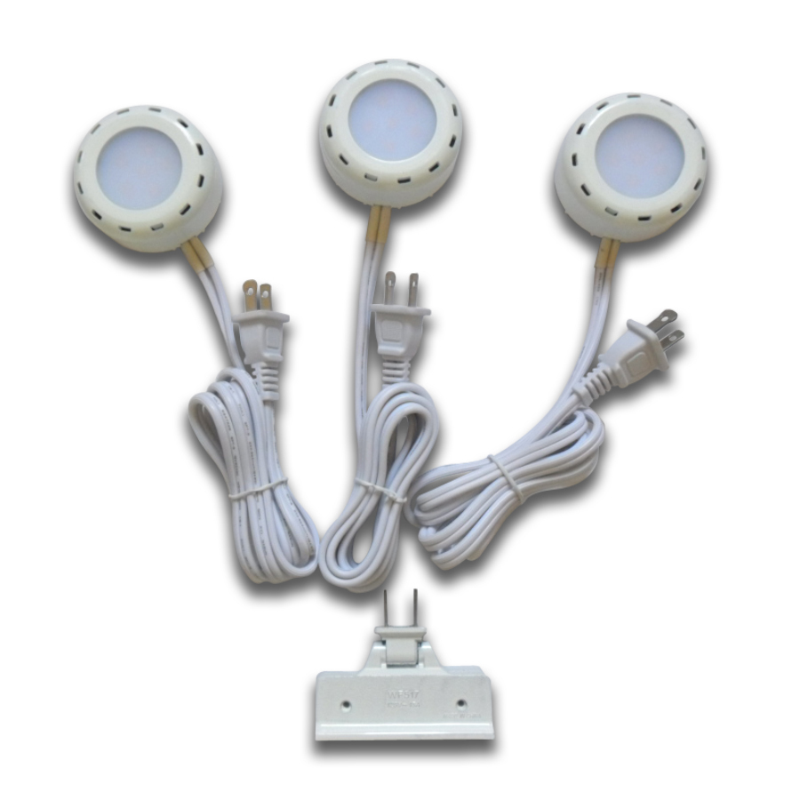 Shop Utilitech Pro 3 Pack 2 6 In Plug In Under Cabinet Led