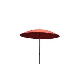 Garden Treasures 8 Ft 2 In Red Round Patio Umbrella