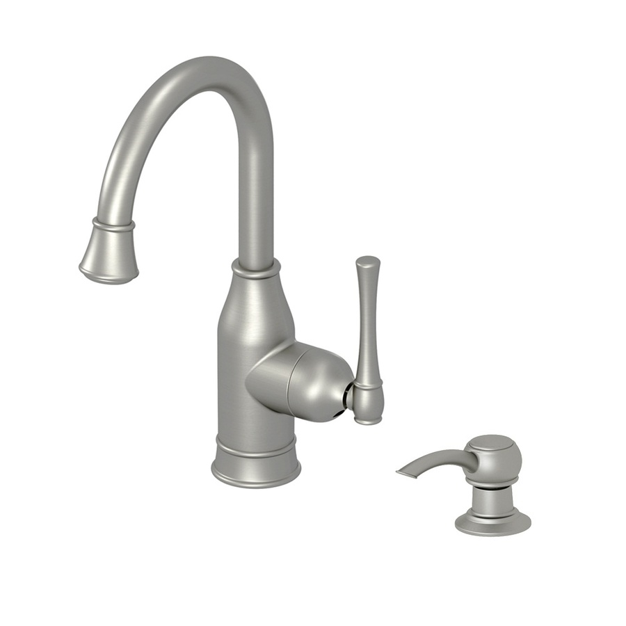 Aquasource Kitchen Faucet: Shop AquaSource Stainless Steel Pvd 1-Handle-Handle Bar