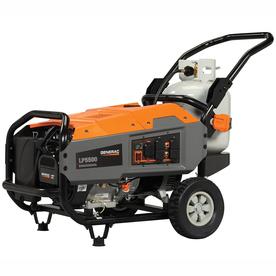 Generac Lp 5,500-Running-Watt Portable Generator With Gen...