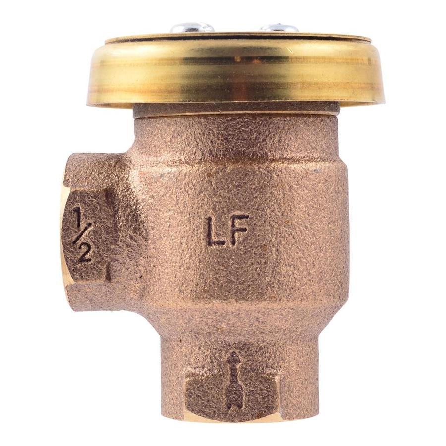 Cash Acme Brass Fnpt 1 2 In Anti Siphon Vacuum Breaker In The Backflow Preventers Vacuum Breakers Department At Lowes Com