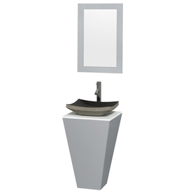Wyndham Esprit Gray Single Vessel Sink Bathroom Vanity With