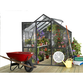 Systems Trading Stc 8-Ft L X 6-Ft W X 7.2-Ft H Greenhouse...