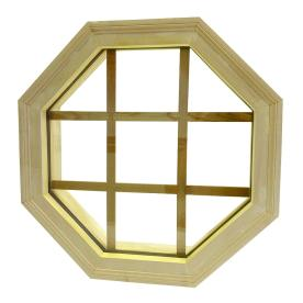 Awsco Octagon Replacement Window (Rough Opening: 22-In X ...