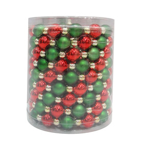 Holiday Living 9-ft L Beaded Garland LW60-4X038G