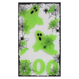 Holiday Living Gel Hanging Ghost Window Cling LW62-FX218