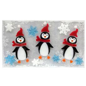 Holiday Living Penguin Window Cling LW72-GLXM002-A