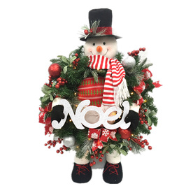 Holiday Living 2.91-Ft Freestanding Snowman Sculpture Wit...