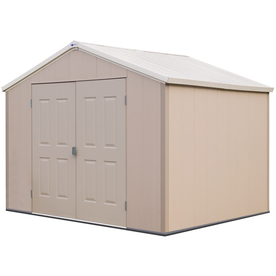 Royal Outdoor Vinyl Storage Sheds Barrette Living 10 X 8