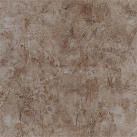 Style Selections Brown Ceramic Marble Floor Tile (Common: 17-in x 17-in; Actual: 17.26-in x 17.26-in) PMAB91QS