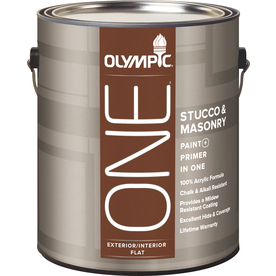Shop Olympic One Exterior Flat Tintable White Latex Base