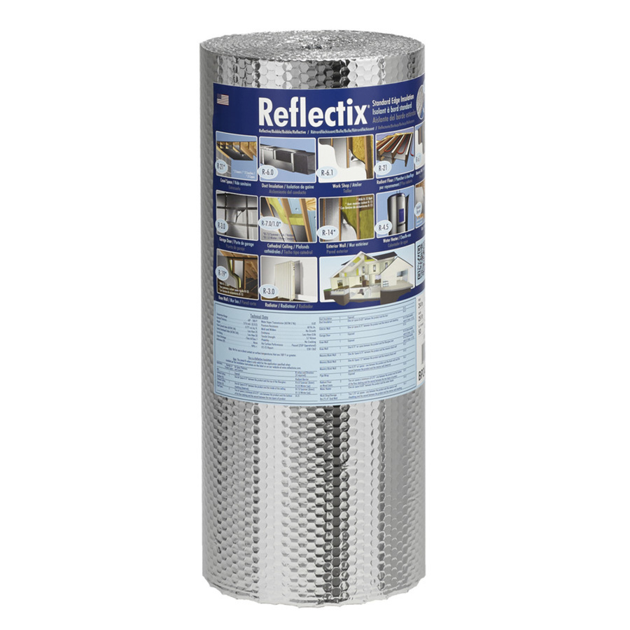 Shop Reflectix R21 24 In X 25 Ft Unfaced Reflective Roll