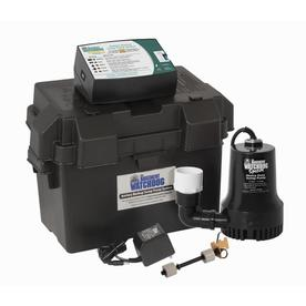 Shop water pumps at lowes display product reviews for 033 hp plastic battery powered sump pump ccuart Images