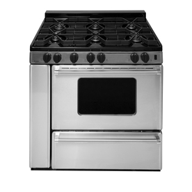 Display Product Reviews For 6 Burner Freestanding 3 9 Cu Ft Gas Range Stainless