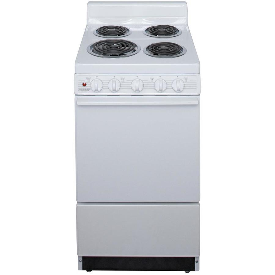 Shop Holiday Freestanding 2 4 Cu Ft Manual Clean Electric
