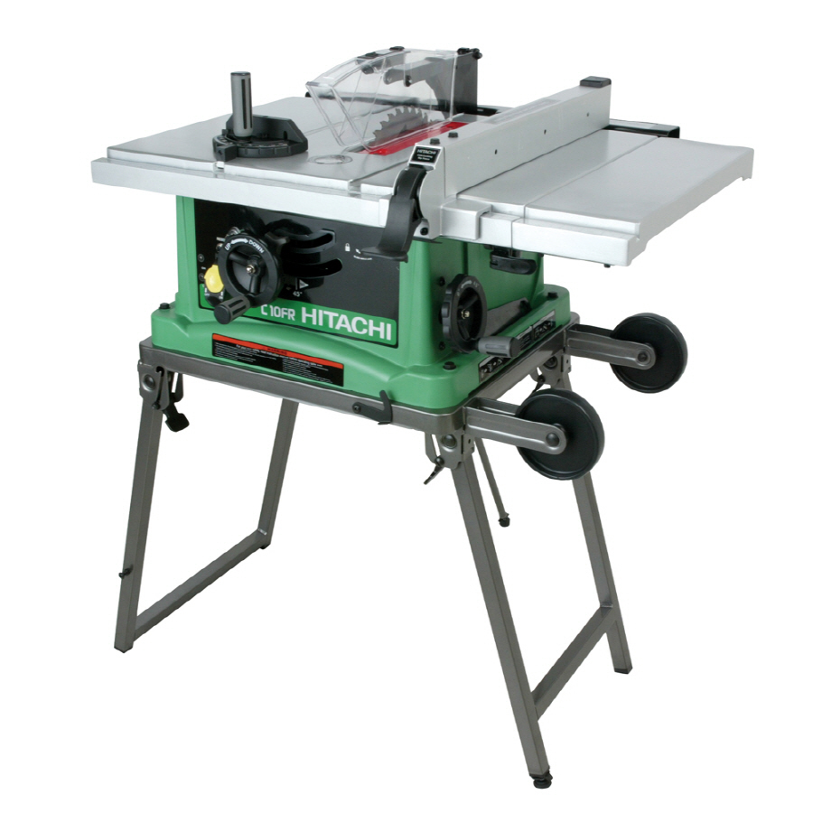 "Shop Hitachi 15-Amp 10"" Table Saw at Lowes.com"
