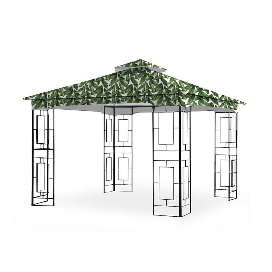 Garden Winds Replacement Canopy Top Cover For Garden Treasures Geo Gazebo Palm Lcm1157palm