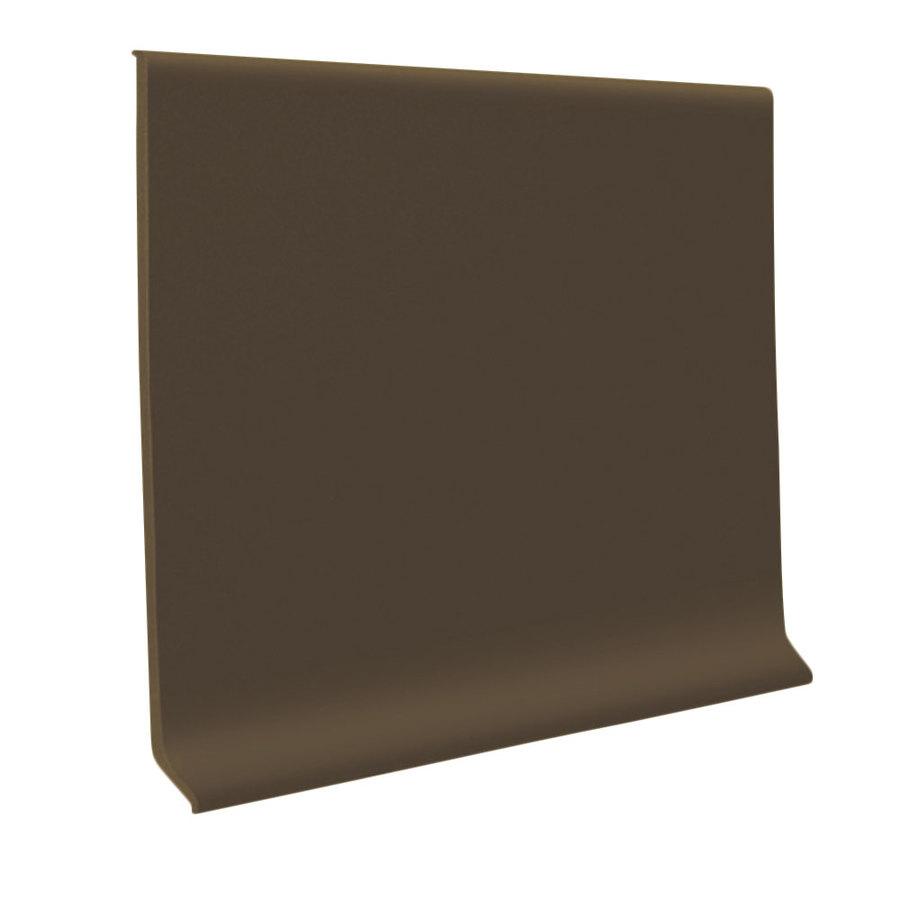 Flexco 4 In Chocolate Vinyl Floor Base