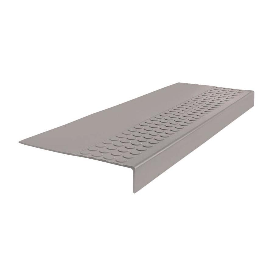 Shop Flexco Stair Treads 6 Pack 12 In X 36 In Pebble