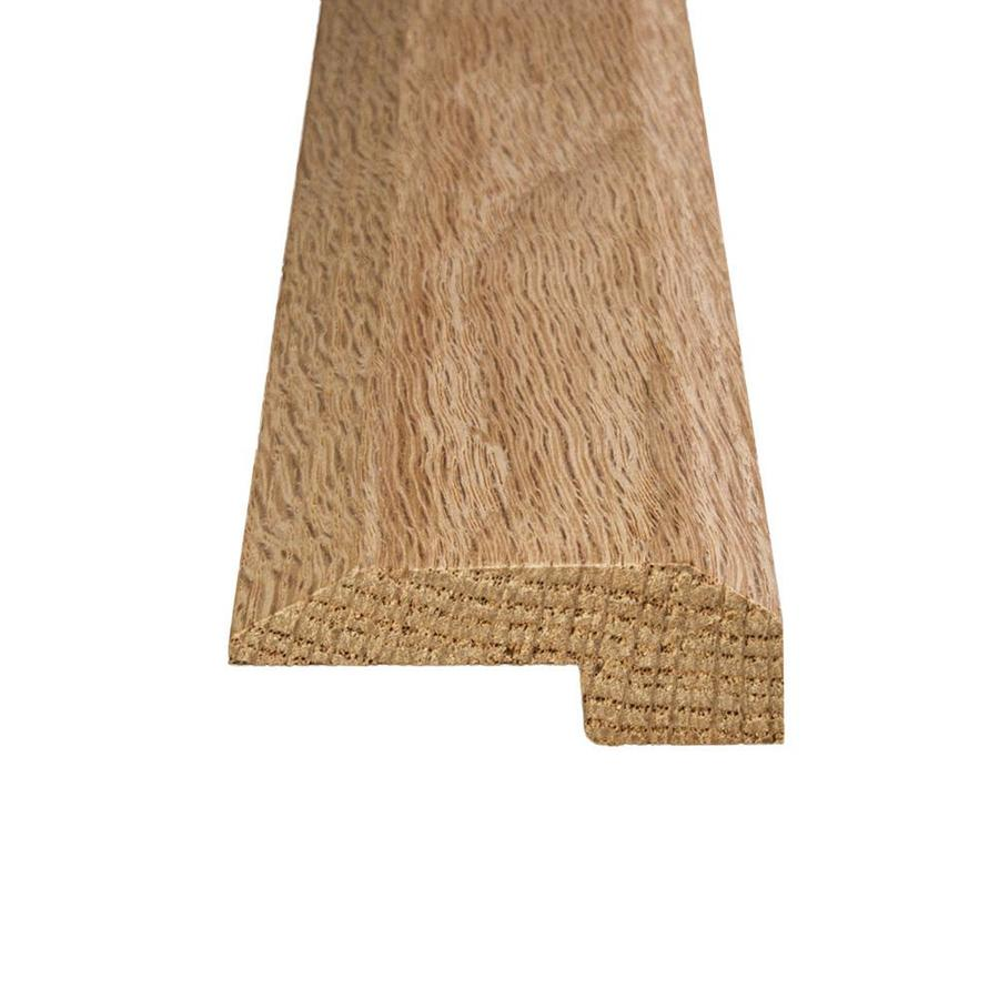 Flexco 2 In X 78 In Oak Solid Wood Floor Threshold In The Floor Moulding Trim Department At Lowes Com
