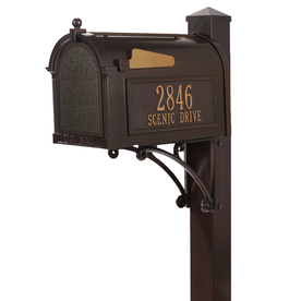Whitehall Products 10.125-In W X 55-In H Metal French Bro...