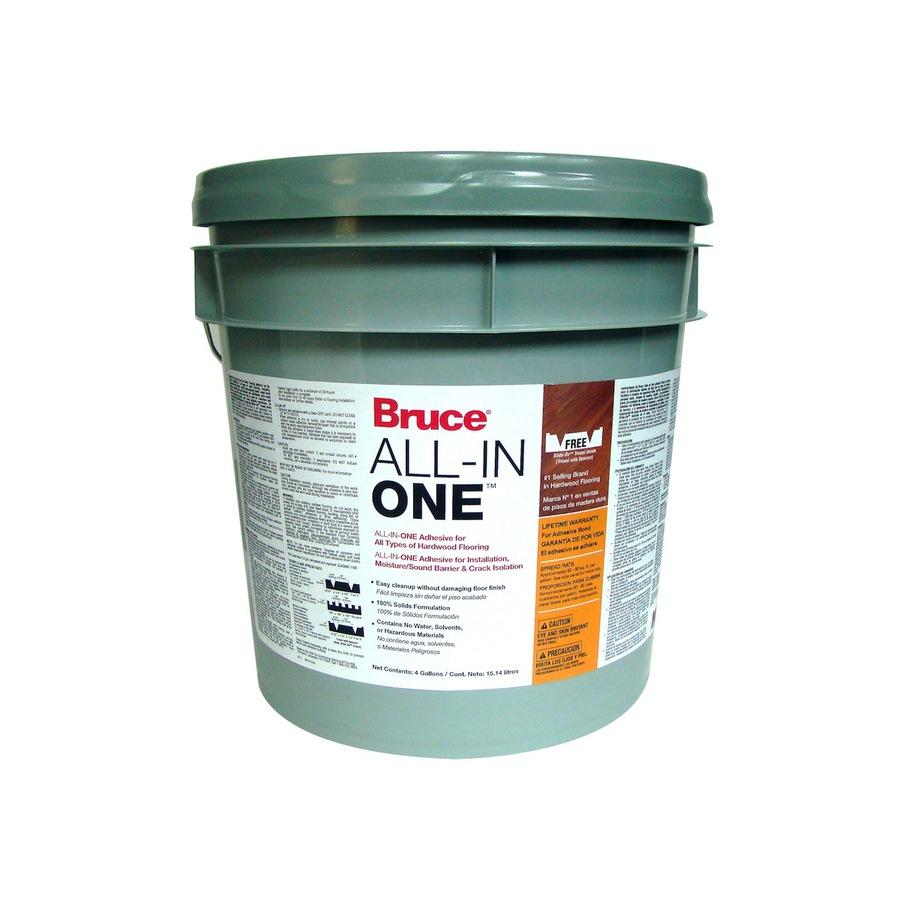 Shop Bruce 4-Gallon Trowel Hardwood Adhesive At Lowes.com